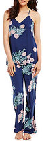 Josie Floral Challis Pajamas