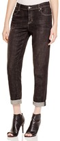Eileen Fisher Petites Boyfriend Jeans in Vintage Black