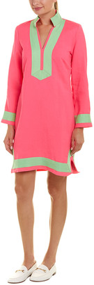 Sail to Sable Linen-Blend Tunic