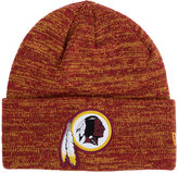 New Era Washington Redskins Beveled Team Knit Hat
