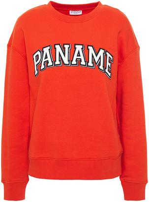 Claudie Pierlot Appliqued Fleece Sweatshirt
