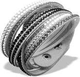 Luna Crystal Slake Bracelet with Beautiful Elements - Multi Silver