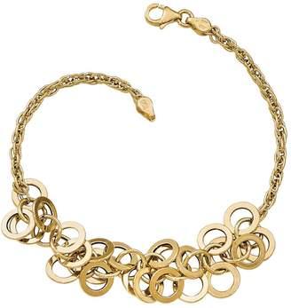 Italian Gold 14K Fringe Bracelet