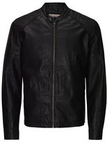 Jack and Jones Original Faux Leather Biker Jacket