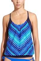 Athleta Water Stripe Blousy Tankini
