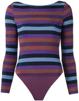 Cecilia Prado knit body - women - Acrylic/Lurex/Viscose - P
