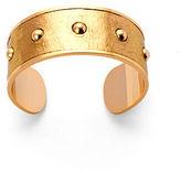 Cuff Bracelet Gold Snakeskin