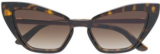 Dolce & Gabbana Eyewear Oversized Cat-Eye Shaped Sunglasses