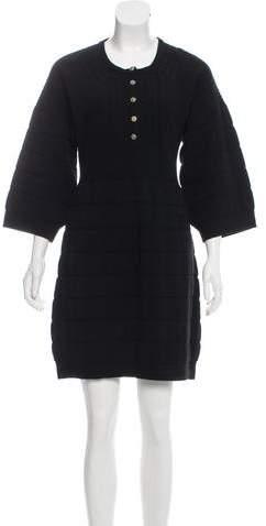 Chanel Mini Sweater Dress