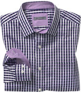 Johnston & Murphy Two-Tone Gingham Shirt