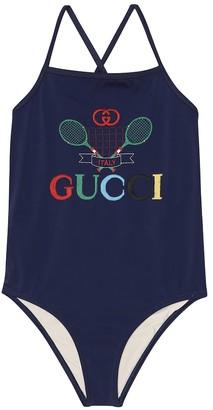 Gucci Kids Gucci Tennis swimsuit