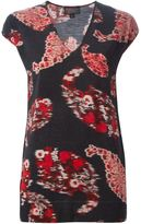 Giambattista Valli paisley print knit top