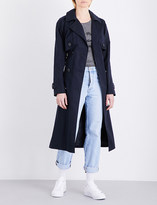 Claudie Pierlot Gabin cotton-blend trench coat