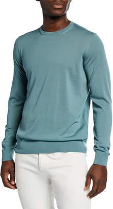 Giorgio Armani Men's Crewneck Wool Sweater