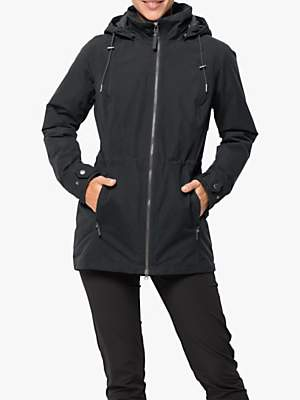 Jack Wolfskin Narita Women's Waterproof Jacket, Phantom