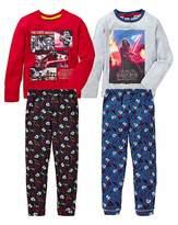 Star Wars Boys Pack of Two Pyjamas