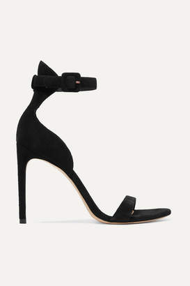 Sophia Webster Nicole Suede Sandals - Black