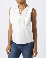 Monsoon Lillian Frill Front Top