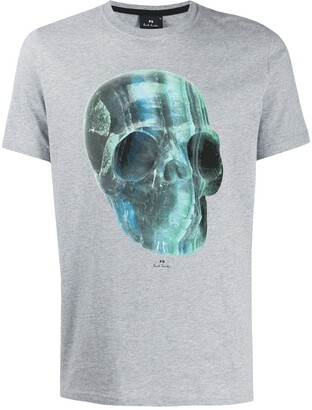 Paul Smith Crystal Skull jersey T-shirt