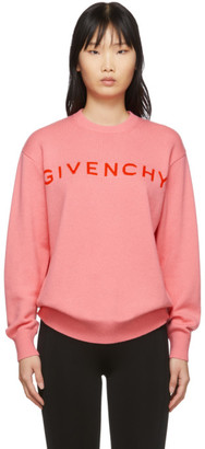 Givenchy Pink Cashmere Sweater