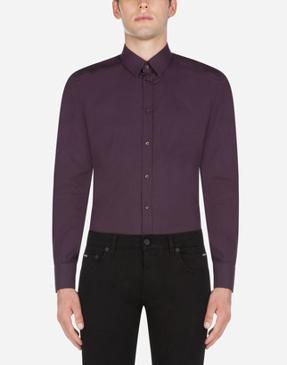 Dolce & Gabbana Cotton Gold-Fit Shirt