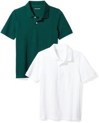 Amazon Essentials Big Boys' Uniform Pique Polo