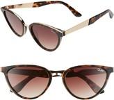 Quay Rumours 47mm Gradient Cat Eye Sunglasses