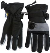 N'Ice Caps TM N'Ice Caps Boys Waterproof Colourblock Ski Glove with Air Hole