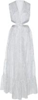 Sandra Mansour Reflet De Piscine Sleeveless Maxi Dress