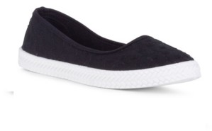 Danskin Precious Slip On Embroidered Flat Women's Shoes