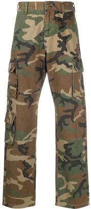 John Elliott Camouflage Cargo Pants
