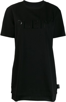 Philipp Plein logo T-shirt dress