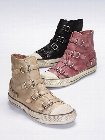 Ash Virgin Cap-toe Sneaker