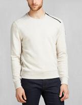 Belstaff Charlton Sweatshirt Natural Melange