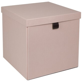 Bigso Box Of Sweden Oui X Bigso Logan Large Square Storage Box Dusty Rose
