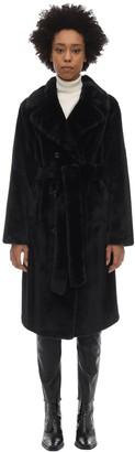 Stand Faustine Faux Fur Midi Coat