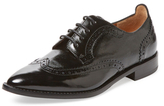 Aquatalia Gwen Patent Leather Wingtip Oxford
