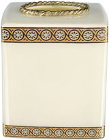 Bradburn Gallery Home Custard Glass Tissue Box, Cream/Gold