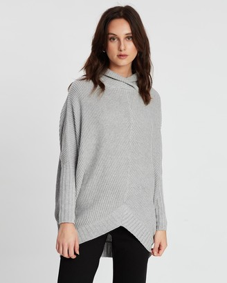 POL Clothing Cove Draped Knit