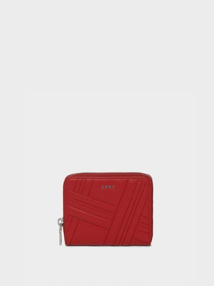 DKNY Allen Small Leather Zip-around Wallet