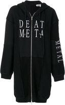 McQ by Alexander McQueen death metal hoodie