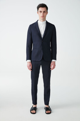 Cos Slim-Fit Linen Blazer