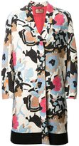 Etro floral print coat - women - Cotton/Polyamide/Polyester/Viscose - 42