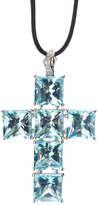 Gavello cross pendant necklace