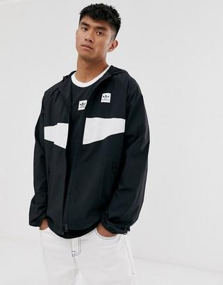 adidas Skateboarding Skateboarding lightweight jacket in black