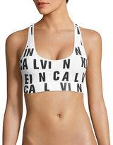 Calvin Klein Logo Sports Bra