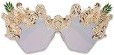 Dolce & Gabbana Cat Eye Pineapple Sunglasses - women - metal - One Size