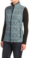 Roper Diamond Aztec Soft Shell Vest (For Women)