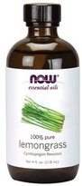 NOW 100% Pure Lemongrass Oil 4 oz 8154575
