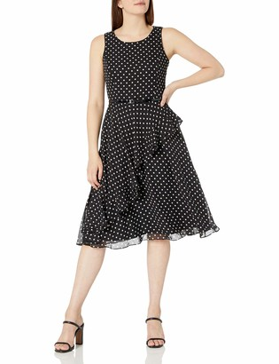 Jessica Howard JessicaHoward Women's Dot Ruffle Dress